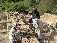 archeological dig in the Swat Valley